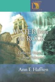 Cover of: Water from the Rock