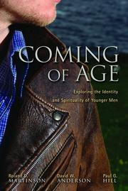 Cover of: Coming of age by Anderson, David W.