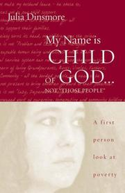 "Cover of: My Name Is Child of God...Not ""Those People"""