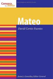 Cover of: Mateo / Matthew (Conozca Su Biblia / Know Your Bible)