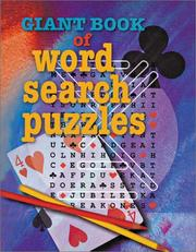 Cover of: Giant Book of Word Search Puzzles (Giant Book Series)