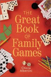 Cover of: The Great Book of Family Games