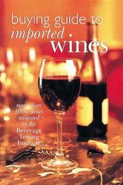 Cover of: Buying Guide To Imported Wines
