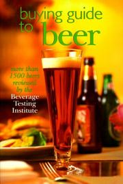 Cover of: Buying Guide To Beers