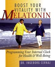 Cover of: Boost your vitality with melatonin | Ingeborg Cernaj