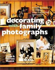 Cover of: Decorating with family photographs