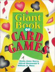 Cover of: Giant Book of Card Games (Giant Book Series) | Sheila Anne Barry