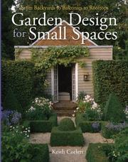 Cover of: Garden Design for Small Spaces