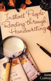 Cover of: Instant people-reading through handwriting