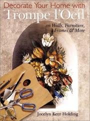 Cover of: Decorate Your Home with Trompe L'oeil