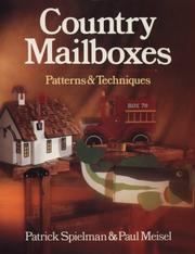 Cover of: Country mailboxes | Patrick E. Spielman