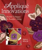 Cover of: Applique Innovations | Agnes Mercik