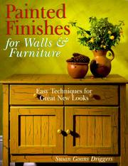 Cover of: Painted Finishes For Walls & Furniture