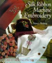 Cover of: Silk ribbon machine embroidery