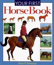Cover of: Your first horse book