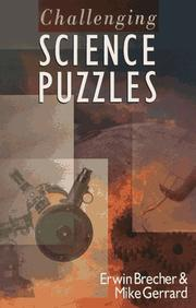 Cover of: Challenging science puzzles