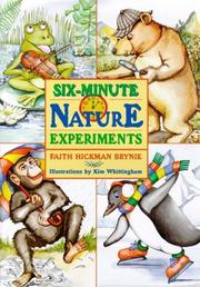 Cover of: Six-Minute Nature Experiments
