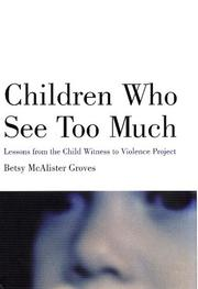Cover of: Children Who See Too Much