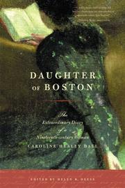 Cover of: Daughter of Boston