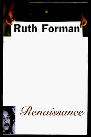 Cover of: RENAISSANCE | Ruth Forman