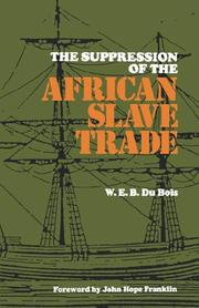 Cover of: The Supression of the African Slave Trade (Louisiana Paperbacks L-49)