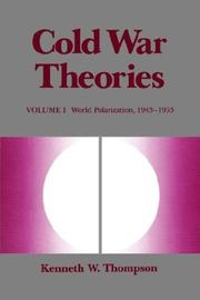 Cover of: Cold War Theories