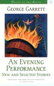 Cover of: An evening performance