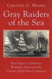 Cover of: Gray Raiders of the Sea