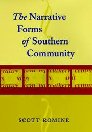 Cover of: The narrative forms of Southern community