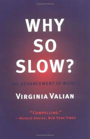 Cover of: Why So Slow? The Advancement of Women | Virginia Valian