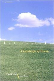 Cover of: A landscape of events