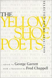 Cover of: The yellow shoe poets