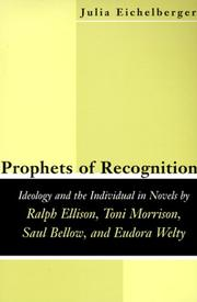 Cover of: Prophets of recognition