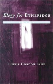 Cover of: Elegy for Etheridge