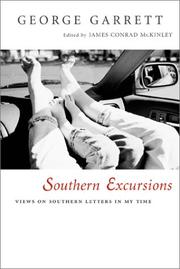 Cover of: Southern excursions