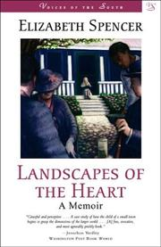 Cover of: Landscapes of the heart