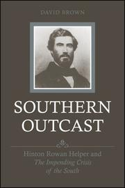 Cover of: Southern Outcast | David Brown