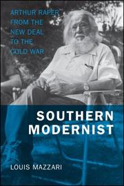 Cover of: Southern Modernist | Louis Mazzari