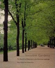 Cover of: Invisible Gardens | Peter Walker