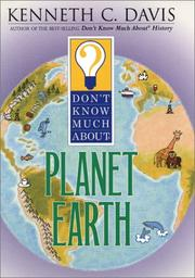 Cover of: Don't Know Much About Planet Earth (Don't Know Much (New York, N.Y.).)