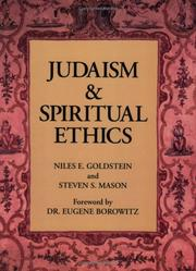 Cover of: Judaism and spiritual ethics