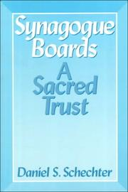 Cover of: Synagogue Boards