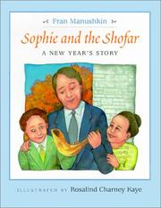 Cover of: Sophie and the shofar: a New Year's story
