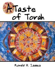 Cover of: A Taste of Torah: An introduction to thirteen challenging Bible stories