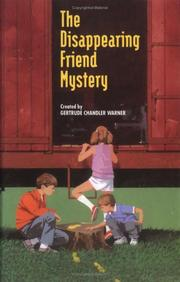 Cover of: The disappearing friend mystery