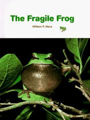 Cover of: The Fragile Frog