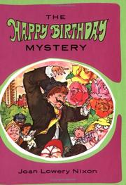 Cover of: The happy birthday mystery