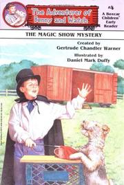 Cover of: Magic Show Mystery
