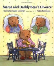 Cover of: Mama and Daddy Bear's divorce