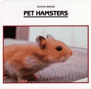 Cover of: Pet hamsters